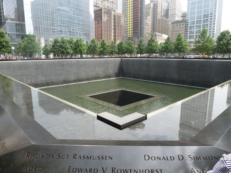 9/11 Memorial Waterfalls